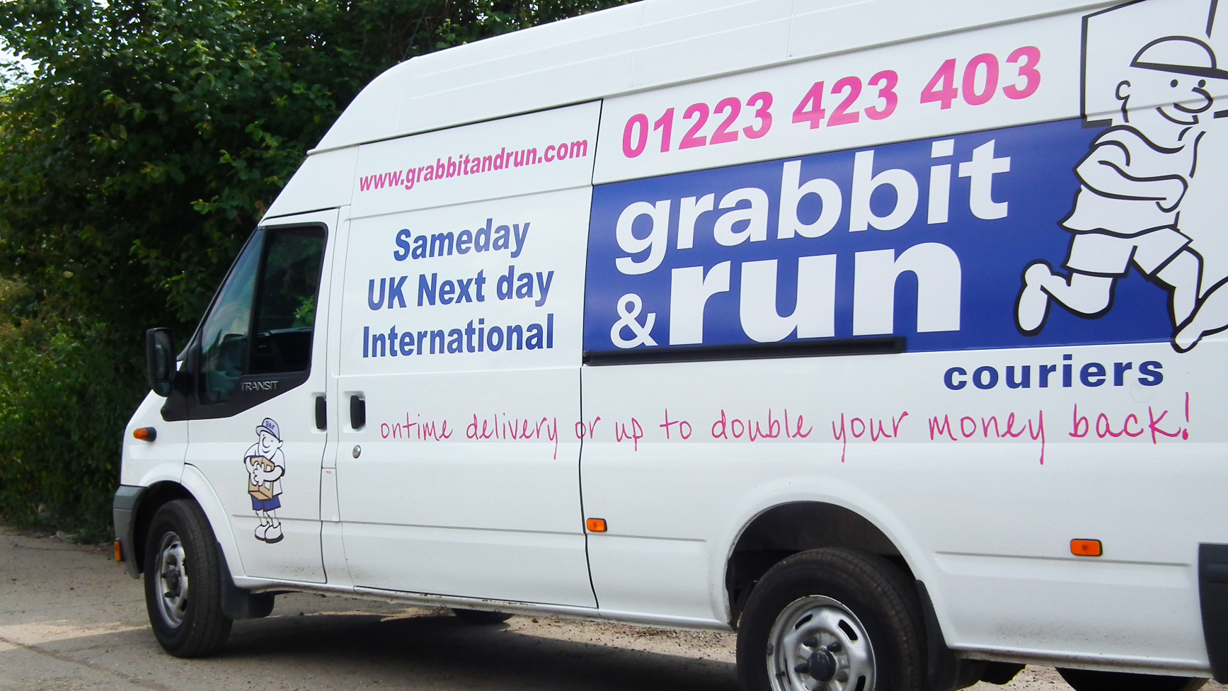 Next Day Grabbit and Run Couriers