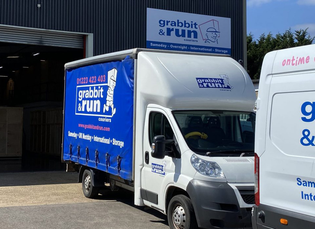 Storage Grabbit and Run Couriers